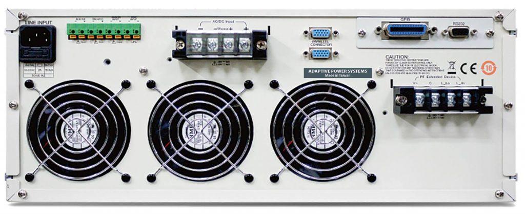 3D018-18 AC & DC Load Rear Panel